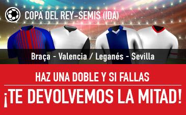 Sportium Copa del Rey Devolución