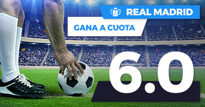 Supercuota Paston Real Madrid gana cuota 6.0