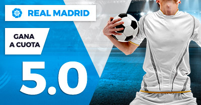 Supercuota Paston la Liga Real Madrid gana cuota 5.0