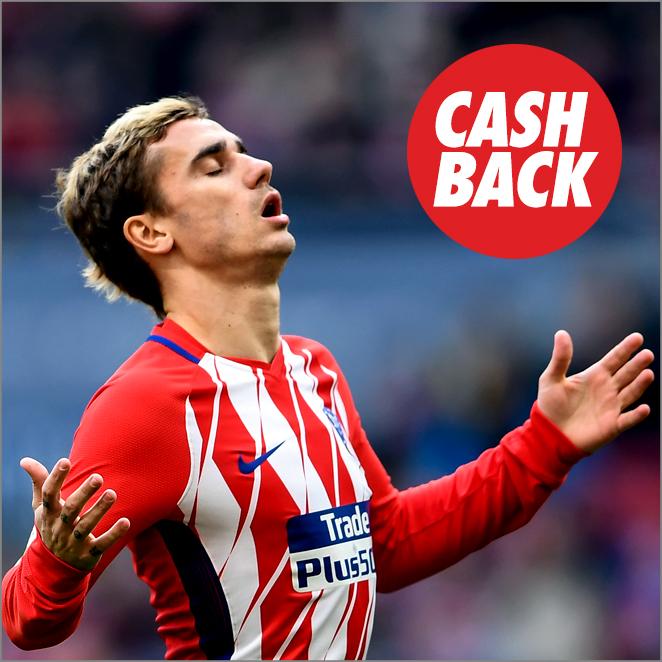 Circus Atlético Madrid VS Valencia cashback