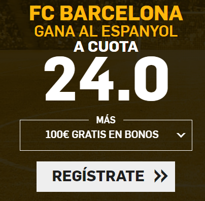 Supercuota Betfair la Liga FC Barcelona Espanyol