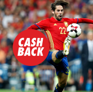 Bonos de Apuestas Circus España vs Argentina cashback 15€