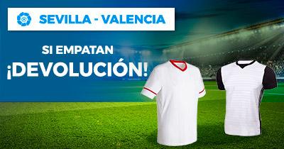 Paston la Liga Sevilla - Valencia devolucion