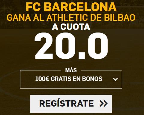 Bonos de Apuestas Supercuotas Betfair la Liga FC Barcelona - Ath. Bilbao