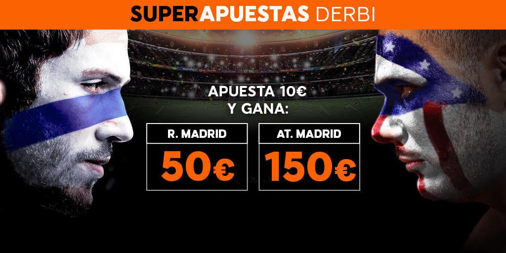 Bonos de Apuestas Supercuota 888sport la Liga R. Madrid vs At. Madrid