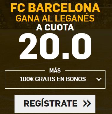 Bonos de Apuestas Supercuota Betfair la Liga Barcelona - Leganes