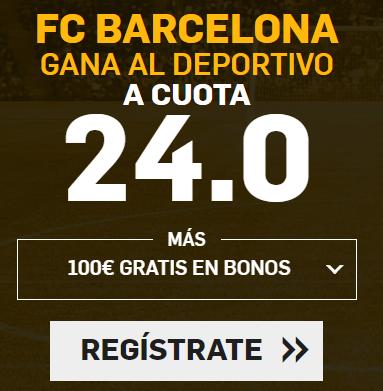 bonos de apuestas Supercuota Betfair la Liga FC Barcelona - Deportivo