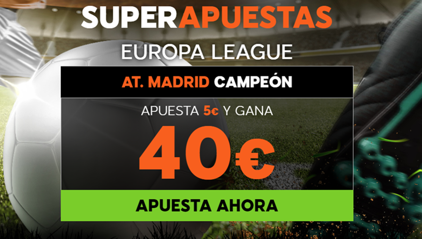 bonos de apuestas 888sport Supercuota Europa League At. Madrid vs Marsella