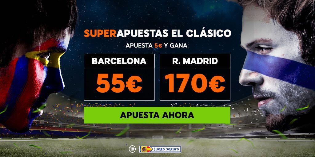 bonos de apuestas 888sport Supercuota el Clásico Barcelona - R. Madrid