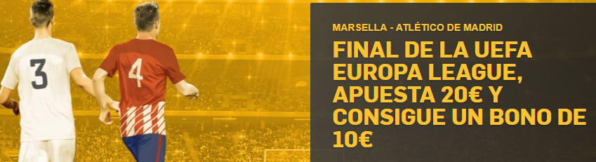 bonos de apuestas Betfair Final Europa League Apuesta 20€ y consigue10€
