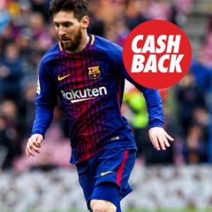 bonos de apuestas Circus el Clásico Barcelona vs Real Madrid cashback hasta 15€