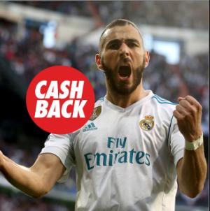 bonos de apuestas Circus la Liga Sevilla vs Real Madrid cashback