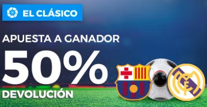 bonos de apuestas Paston el Clasico apuesta a ganador 50% devolucion
