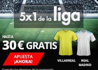 bonos de apuestas Suertia 5x1 la Liga hasta 30€ gratis
