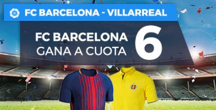 bonos de apuestas Supercuota Paston la Liga Barcelona - Villarreal