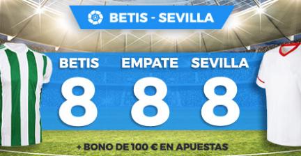 bonos de apuestas Supercuota Paston la Liga Betis - Sevilla