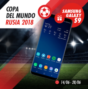 Bonos de apuestas Circus Copa del Mundo Gana un Samsung Galaxy S9!