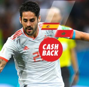 bonos de apuestas Circus España - Marruecos cash back