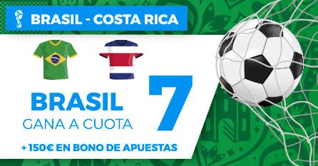 bonos de apuestas Supercuota Paston Mundial Brasil - Costa Rica