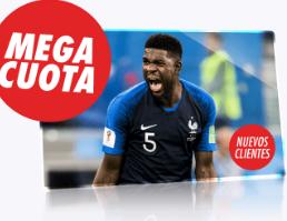 bonos de apuestas Supercuota Circus Francia vs Croacia apuesta 10€ gana 50€